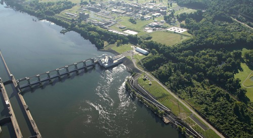 Featured in Power: Willow Island Hydro - A Small but Mighty Marvel on the Ohio River