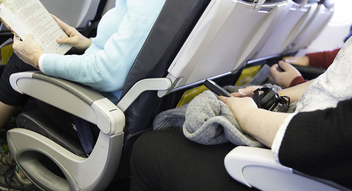 Observations from the middle seat: Why we're feeling the squeeze when we fly