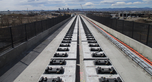 A bridge to the future: Direct-fixation rail helps Denver commuter project span challenges