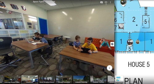 Find design inspiration for your school through virtual tours