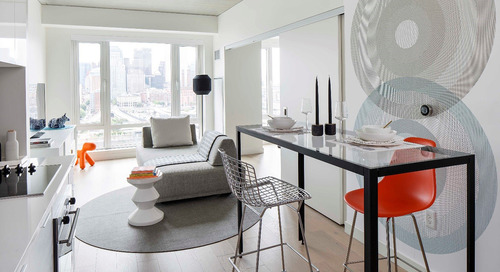 From the Design Quarterly: Living small means the city is your living room