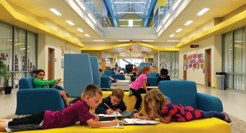 STEM education can be implemented in kindergarten, especially with the right space