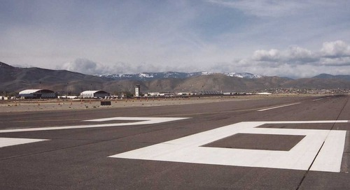 Airport runways: What do those big numbers mean?