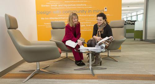 Stantec employees make pledges to #PressForProgress on International Women's Day