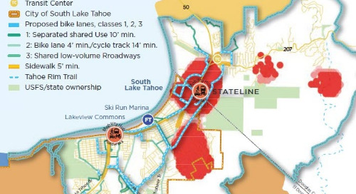 Mining cell phone data to create a multimodal transportation plan for Lake Tahoe
