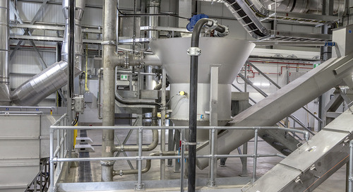 Published in Environmental Science and Engineering: New Grit Recovery System Installed at Edmonton's Gold Bar WWTP