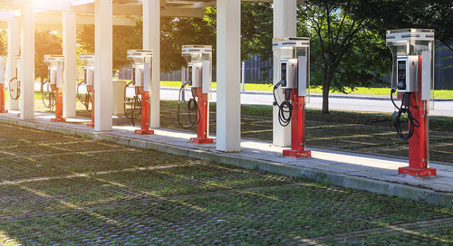 Hybrid fueling stations: Reusing gas stations to support electric vehicle charging