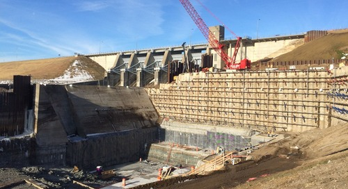 Project layout challenges and optimizations for the Red Rock hydroelectric project