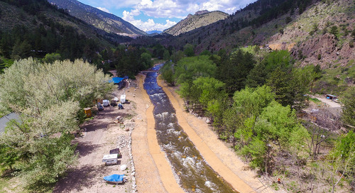 River resiliency: Restoring function and process following a natural disaster