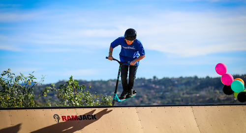 How an 11-year-old taught a former pro skateboarder and skate park designer a new trick