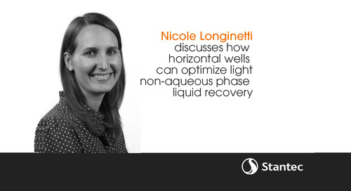 Application of a horizontal well for optimized light non-aqueous phase liquid recovery, Nicole Longinotti
