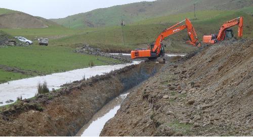 Small dam, big task
