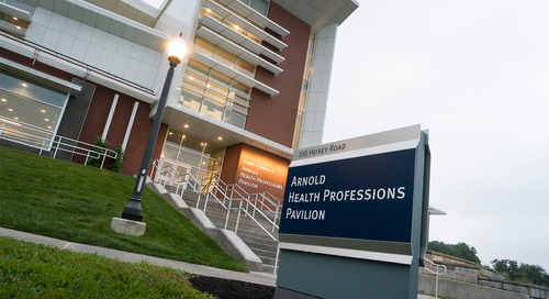 Video: Lebanon Valley College welcomes students to the new Health Professions Pavilion