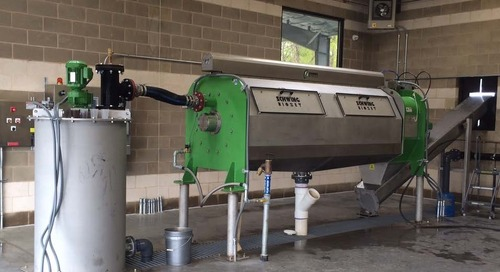 Applying Screw Press Technology to WTP Residual Solids Dewatering