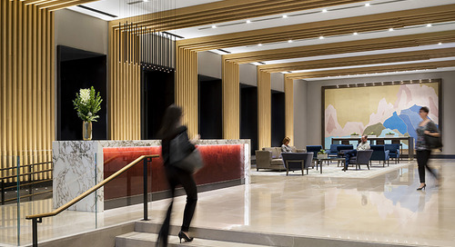 One chance to make a good first impression: Office lobbies see a revamp