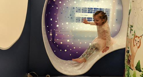 Designing healthcare spaces for kids: Infusing a sense of exploration and curiosity