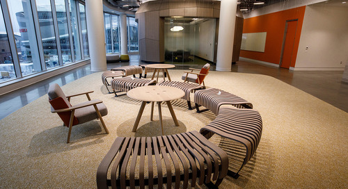Championing a changing office space at Stantec Tower