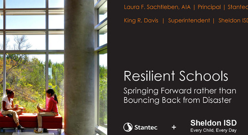 Free 2018 Presentation Download: Resilient Schools – Springing Forward rather than Bouncing Back from Disaster