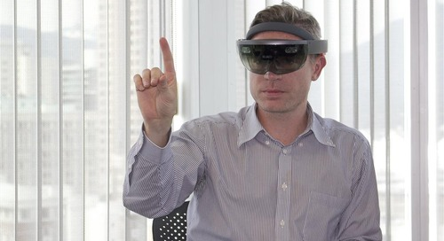 HoloLens on? Check. Ready for blast off. Destination: great design.