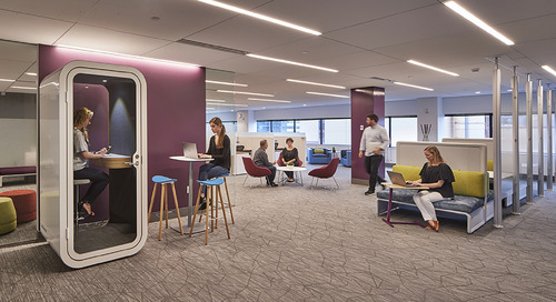 Open plan 2.0: Tips for a successful transition to a new open-office design