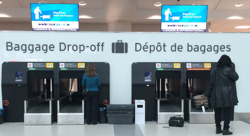 Self-service bag drops and the challenges of speeding up airport baggage check-in