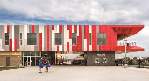 Building pride and community through high school athletics facility design