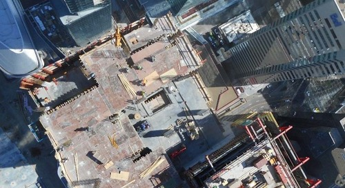 Taking data to new heights: Stantec Tower's crane camera project