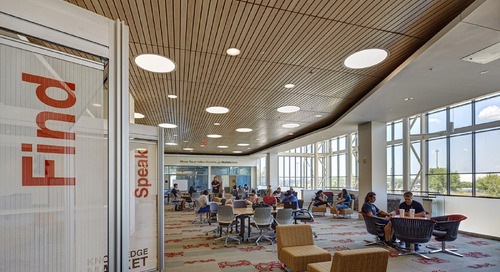 Research and benchmarking: Revisiting a 21st century library a decade after design