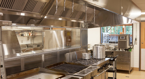 What's cooking? When it comes to commercial kitchen design, it's all about ventilation