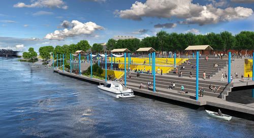From the Design Quarterly: 6 approaches to waterfront revitalization