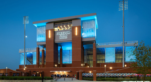Friday Night Lights: The architecture of high school football stadium design in Texas