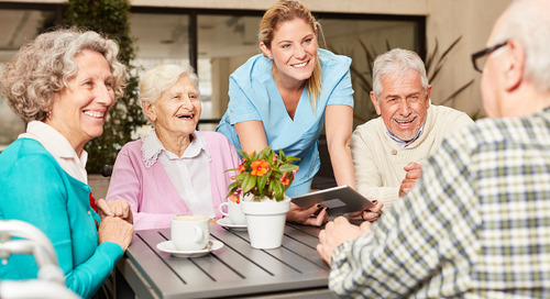 How do senior living facilities adopt a household model? Retrofit care around the resident