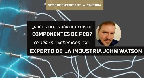 ¿Qué es la gestión de datos de componentes de PCB?