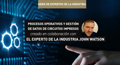 Procesos operativos y gestión de datos de circuitos impresos