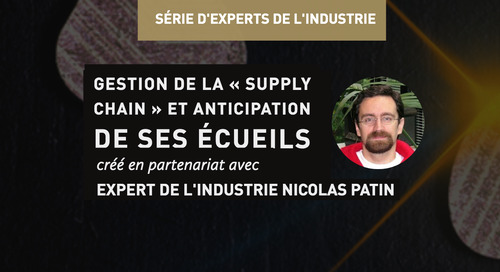 Gestion de la « supply chain » et anticipation de ses écueils