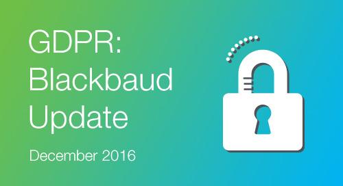 GDPR - December Update