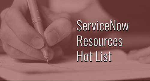 If you're evaluating ServiceNow, you want to keep this hot list of helpful resources handy!