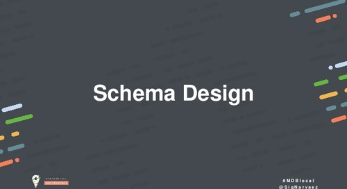 Jumpstart: Introduction to Schema Design
