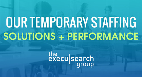 Our Temporary Staffing Solutions + Performance