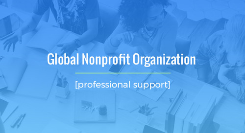 Time-Sensitive Placement For Global Nonprofit Organization