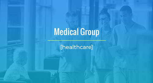 Large Scale Recruiting For Medical Group