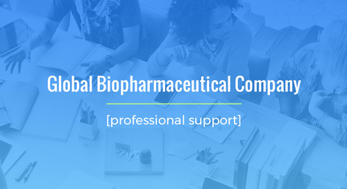 High-Volume, Time-Sensitive Staffing Project For Global Biopharmaceutical Company