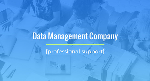 Large Scale Temporary Staffing Project For Data Management Company
