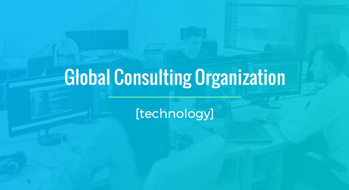IT Application For Global Consulting Organization