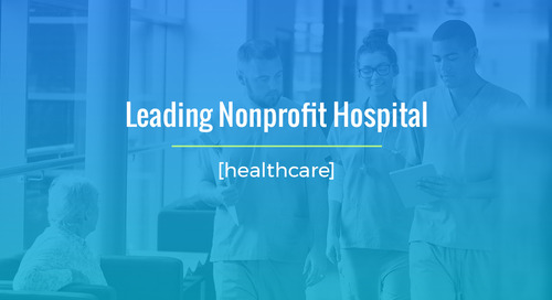 MSP Solution For Leading Non-Profit Hospital