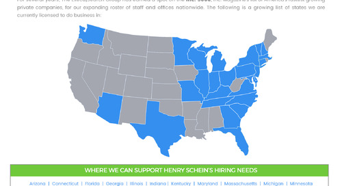 Our Geographical Reach: Henry Schein