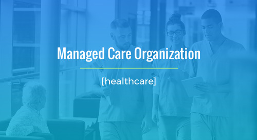 Long-Term, High Volume Project For Managed Care Organization