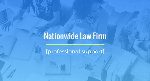 Staffing For Nationwide Law Firm Amidst The Global Pandemic