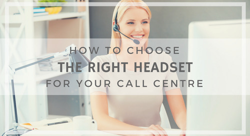 Choosing The Right Headset [Infographic]
