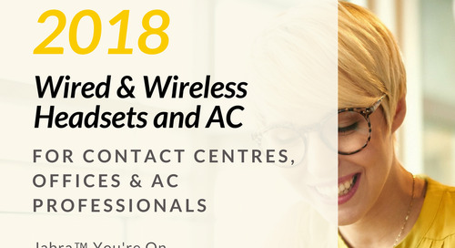 Jabra Headsets & AC 2018 [Flipbook]